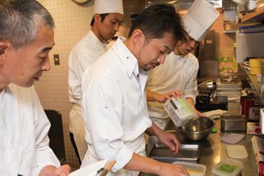 フランス ニース風 ちらし寿司 開発風景3