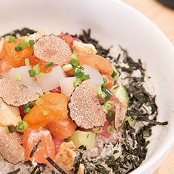 海鮮とトリュフの旨塩ばらちらし丼 重寿司